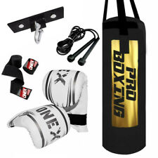 Boxing Set Gloves Punch bag Heavy Fitness Boxing Gloves Filled Bag Pro Boxing