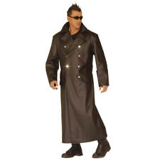 WW2 General Kostüm Matrix Mantel Offiziersmantel Uniform Ledermantel L 52/54