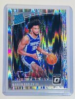Marvin Bagley III 2018-19 Donruss Optic Shock Rated Rookie Prizm RC #168 Kings