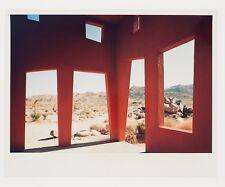 Vintage photographic print of THE MONUMENT 2, Joshua Tree California - 1996.