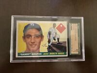1955 Topps Baseball Sandy Koufax Rookie Card SGC 60 EX 5