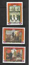 KAMPUCHEA, 1987 70E ANNIV DE RUSSE REV SG 853a-c MNH, CAT 5.30GBP