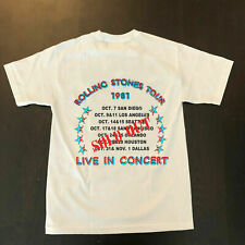 RARE!! Vintage Rolling Stones 1981 Tour Sold Out Dragon T-Shirt New USA sz