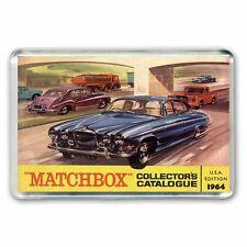 Autos Matchbox (Jaguar) 1964 Catálogo Obras De Arte-Jumbo Refrigerador/spint Imán