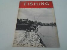 Vintage 29th January 1965 FISHING The Magazine For The Modern Angler+Advertising