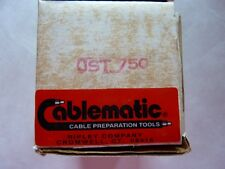 New!  Cablematic JST 750 Jacket Stripping Tool