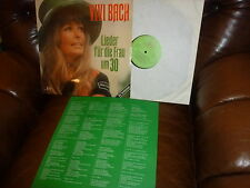 Vivi Bach, Lieder fur die Frau um 30, Text, From 6.22361, 1975