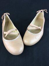 Stuart Weitzman Bolshoi Bambina Nappa Ballet Flats Size 8M  B2408/