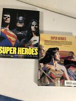 Alex Ross  SUPER HEROES Postcard Booklet of 30 NEW and Unused (DC Comics Heroes)