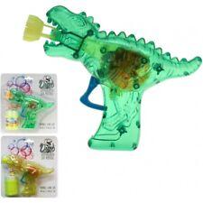 """Seifenblasenpistole """"Dino-Gun"""" mit Lichteffekt - inkl. Seifenblasenflüssigkeit!"""