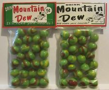 2 Bags Of Drink Mountain Dew 5 Cents Promo Marbles