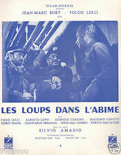 ▬►1959 Synopsis Les Loups dans l'abîme_Jean Marc Bory_Folco Lulli