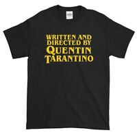 Written and Directed by Quentin Tarantino Unisex T Shirts Gift Pulp Fiction