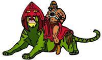 Masters of the Universe - He-man on Battle Cat Enamel Pin-IKO1660-IKON COLLEC...
