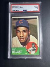 1963 Topps #353 Billy Williams Chicago Cubs PSA 7