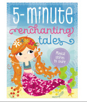 5 Minute Enchanting Tales Mermaid Book - 7 Magical Stories to Share