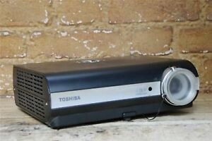 Toshiba TDP-T45 Projector 1024x768 2500 Lumens 1930 Lamp Hours No Remote Grade A