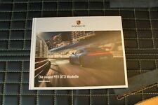 RAR! Hardcover Prospekt/brochure Porsche 911 992 GT3 & Touring & Clubsport