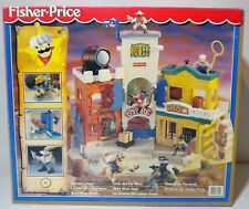 FISHER PRICE 1997 WESTERN TOWN LITTLE PEOPLE EUROPEAN MISB UNUSED RARE