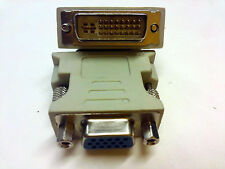 DVI-I (M) 24+5 Singole collegamento a VGA (F) adattatore