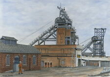 Silverwood Colliery - 1900 - 1992 - Ltd Ed Print - Pit Pics - Coal Mining