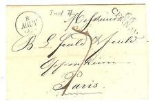 LETTRE HAUT RHIN M.P. 66 CERNAY + CACHET DATEUR DU 8 AOUT 1828