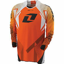 NEW ONE INDUSTRIES REACTOR ORANGE JERSEY MX ATV BMX  XLARGE XL