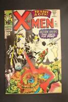 X-Men #23, VG/FN 5.0, Count Nefaria;  Cyclops,Marvel Girl, Beast, Angel