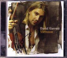 David GARRETT Signiert VIRTUOSO Flight of Bumble Bee CD Toccata Carmen Autogramm