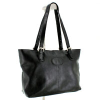 Rowallan Leather Shoulder Tote Bag in Black - Hand Made Fine Leather