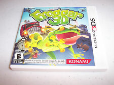 Frogger 3D (Nintendo 3DS) XL 2DS Game w/Case & Manual