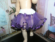 "Purple Net Petticoat  22-23"" Doll clothes fits Ideal Saucy Walker or Pedigree"