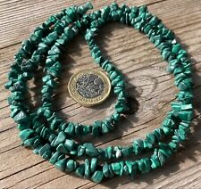 Malachite - Semi Precious 74cm - Gemstone Beads - Jewellery Making