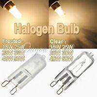 10pcs G9 Halogen Warm White Capsule Light Bulb Lamp 50W/40W/35W/28W/25W/18W