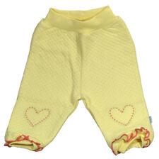 Pantalon jogging bébé fille - jaune - 100% coton - taille 6 mois