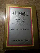 Al-Mufid A Learner's English-Arabic Dictionary by Nasr & Al-Khatib