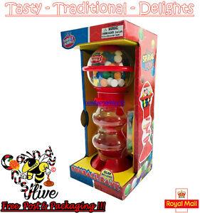 Gumball Vending Machine Gum Dispenser Toy Fun 80g Bubble Gum Include