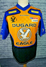More details for eastbourne eagles speedway team jersey motorcycle shirt jersey - sz s - dugard
