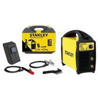 Stanley Inverter Elektroden Schweißgerät SIRIO 140 SET Schweißmaske mobil 130A