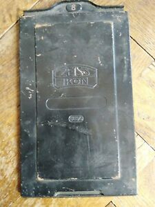 1 Stück Zeiss Ikon Nr. 665/9 Metallkassette für Glasplatten auch wetplate