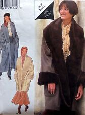 "* 2487 Style Misses Coat with Tie Belt Pattern 10-28 Bust 32.5""-50"" 1994 UNCUT"