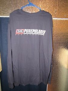 Polaris - Long Sleeve T-Shirt - Snowmobile - Size XL - Pure Polaris - Shirt
