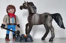 Playmobil western - cowboy - cheval - marquage - fer - branding iron - custom
