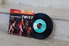 45 t /  johnny hallyday - viens danser le twist (432 593 BE)