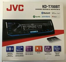 (MA6) JVC KD-T700BT 1-DIN CD Car In-Dash Receiver Radio Stereo