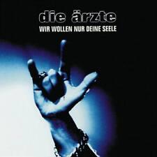DIE ÄRZTE Wir Wollen Nur Deine Seele 2CD 1999 Live Digipack Bela B Farin Urlaub