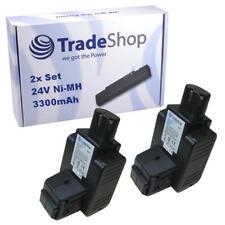 2x Batterie 24 V 3300 mAh Ni-MH pour Hilti c7/24 c7/36 tcu7/36 te5a remplace bp60 bp72