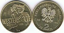 Westerplatte - Wrzesien 1939 2009 2 Zl Muenze  Bfr,