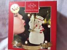 65% Off Lenox Blow Out The Lights Snowman Ornament New Christmas Holiday