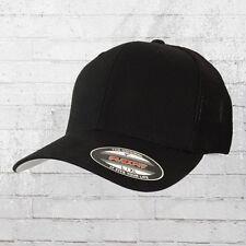 Flexfit Trucker Cap schwarz Mütze Haube Capi Schildmütze Basecap Kappe Hat Cappy
